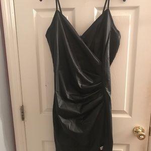 Fashion Nova Hit List Leather Dress